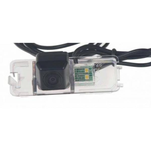Cúvacia kamera v osvetlení špz
