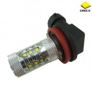 Led žiarovka H8 cree chip canbus 80W