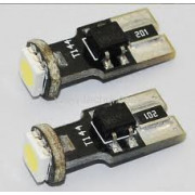 Led žiarovka T10/w5w 1smd can bus