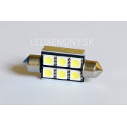 Led žiarovka SUFIT 39mm 6smd