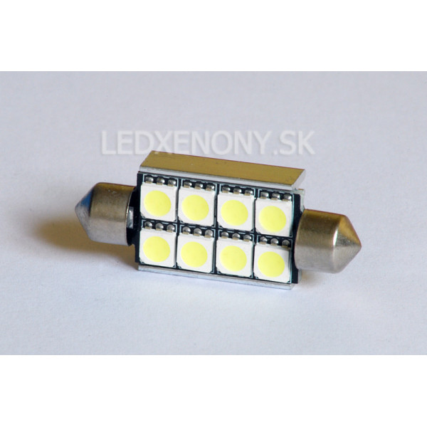 Led žiarovka SUFIT 41mm 8smd