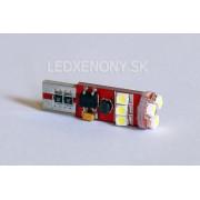 Led žiarovka T10 9smd can bus nový typ