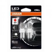 OSRAM LEDriving® 1557R-02B 2 W / 0,4 W 12V BAY15d P21/5W Red