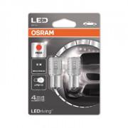 OSRAM LEDriving® 7456R-02B 2 W 12V BA15s P21W Red