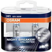 OSRAM NIGHT BREAKER® UNLIMITED H7 Duo Box