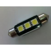 Led žiarovka Sufit 3x  5050smd can bus 39mm